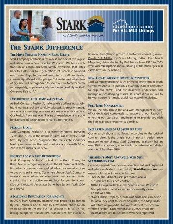 Experience The Stark Difference - Stark Company Realtors