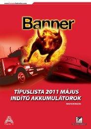 www.bannerbatteries.com Magyarorsz