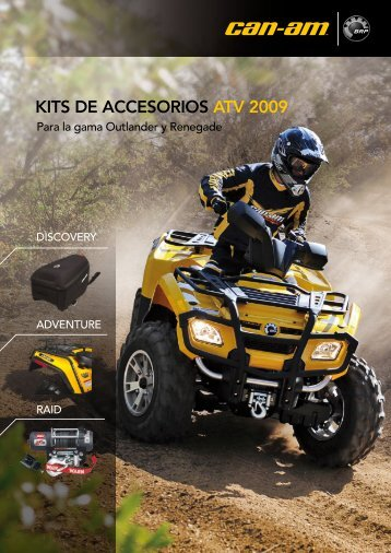 CAN-AM™ – Kits de Accesorios ATV 2009 (ES) - cominup
