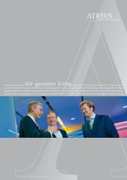 Download Unternehmensprofil als PDF - Atreus Interim Management