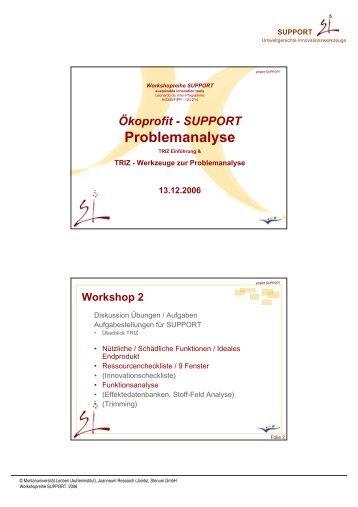 TRIZ - Problemanalyse - STENUM GmbH