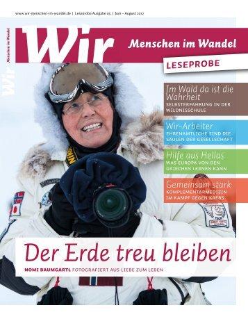 Leseprobe_WIR #05 - Sven Nieder