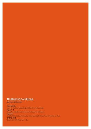 Kunst- und Kulturbericht der Stadt Graz 2004 - Kulturserver Graz