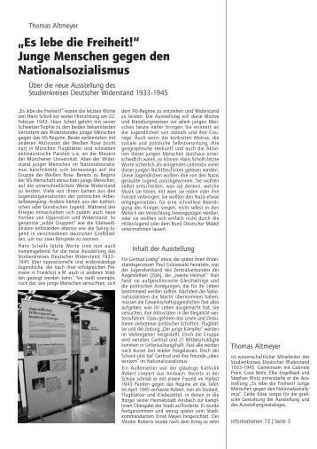 """Thomas Altmeyer: """"Es lebe die Freiheit!"""" - Studienkreis Deutscher ..."""
