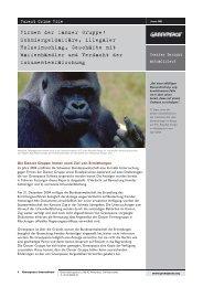 Danzer Report - Greenpeace