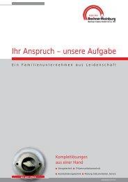 Ihr Anspruch – unsere Aufgabe - Bachner Elektro GmbH & Co. KG