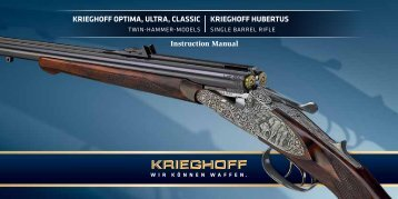 Instruction Manual - Krieghoff International, Inc.