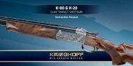 K-80 / K-20 Instruction Manual - Krieghoff International, Inc.