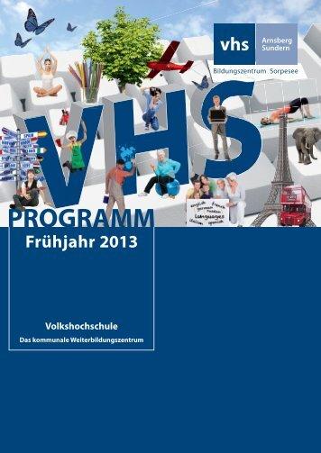 www .vhs-arnsberg-sundern .d e inhaltsverzeichnis