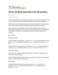 Cullen de Windt leads King of the Hill - Piper's Landing Golf ...
