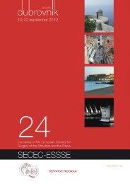 DEFINITIVE PROGRAM - secec 2012