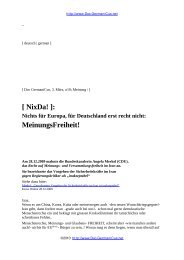 [ NixDa! ]: MeinungsFreiheit! - BookRix