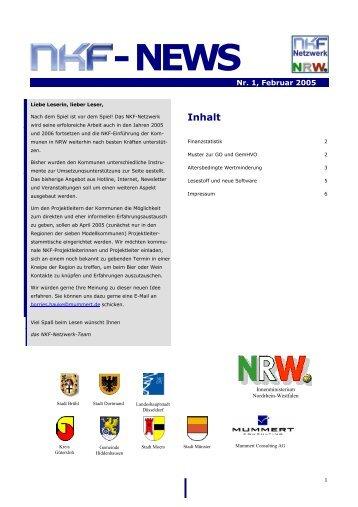- NEWS - Haushaltsrecht/NKF