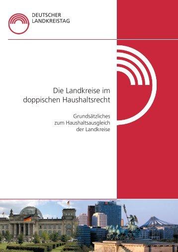 Die Landkreise im doppischen Haushaltsrecht