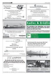 Fascination of Power - bei Kadlec & Brödlin