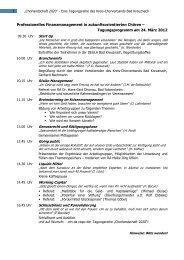 Programm - Kreis-Chorverband Bad Kreuznach