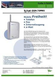Telsat GSM GPRS - M 1.psd - bei Kadlec & Brödlin