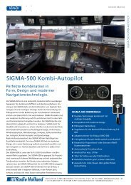 SIGMA-500 Kombi-Autopilot