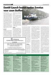 Daniël Gausch bouwt tanker Eventus voor zoon Steffen - bei Kadlec ...