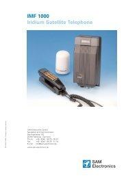 MF 1000 Iridium Satellite Terminal