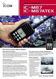 Icom IC-M87/M87ATEX