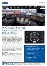 SIGMA 130 Windmessgerät