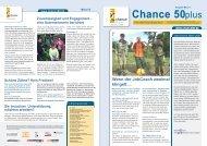 Newsletter Chance 50plus Ausgabe 03/2012