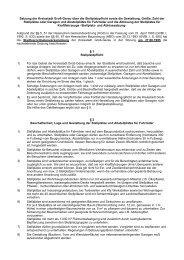 Satzung der Kreisstadt Groß-Gerau über die Stellplatzpflicht sowie ...