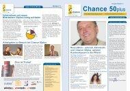 Newsletter Chance 50plus Ausgabe 10/2012