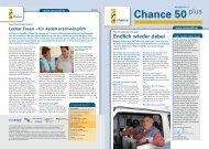 Newsletter Chance 50plus Ausgabe 11/2008