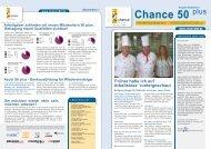 Newsletter Chance 50plus Ausgabe 09/2011