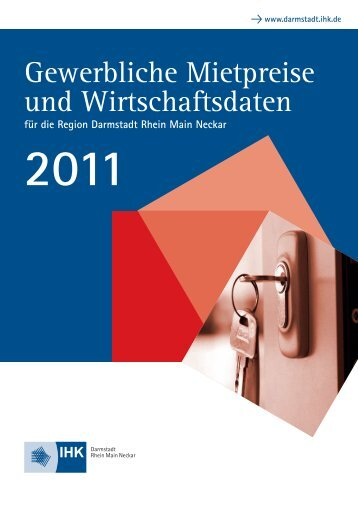 Gewerbliche Mietpreise und Wirtschaftsdaten - IHK Darmstadt