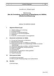 Abfallwirtschaftssatzung - Landkreis Göppingen