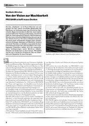 Stadtbahn München Von der Vision zur Machbarkeit - der Fahrgast