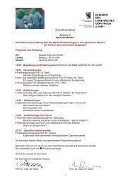 Ärzte-Klinik-Dialog Zentrum II Operative Medizin ...