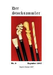 DER STOCKSAMMLER Nr. 9, Dezember 1987:Layout 1.qxd