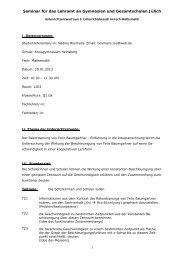 Einführung in die Integralrechnung - Mathematikundschule.de