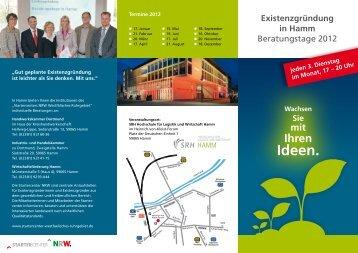 Beratungstage 2012 - Wirtschaftsförderung Hamm