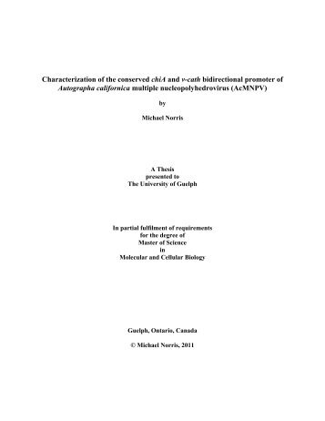 Michael Norris - MSc Thesis Complete.pdf - University of Guelph