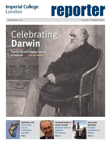 Celebrating Darwin - Imperial College London
