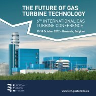 THE FUTURE OF GAS TURBINE TECHNOLOGY - ETN