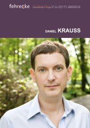 DANIEL KRAUSS