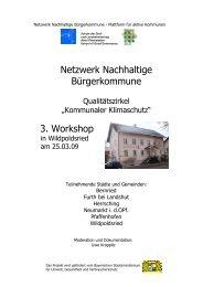 Foto-Doc 3. Workshop QZ KommKlima Wildpoltsried - Nachhaltige ...