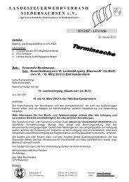 """Ausschreibung zum 18. Landeslehrgang """"Blasmusik"""