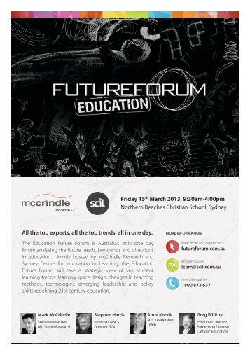 Education-Future-Forum-2013-Brochure_McCrindle-Research_SCIL_sm