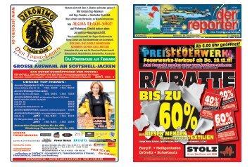 der reporter - Das Familienwochenblatt für Fehmarn 2011 KW 52