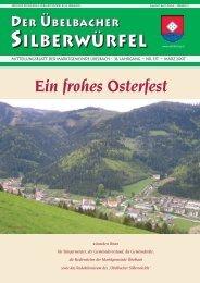 Silberw-März 2007 - Marktgemeinde Übelbach