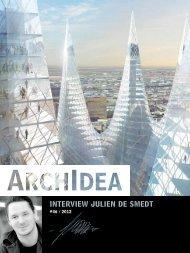 INTERVIEw julIEN dE smEdT - ArchIdea