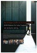 KUKARoboter für hohe Traglasten - DIE Roboter GmbH & Co. KG - Seite 3
