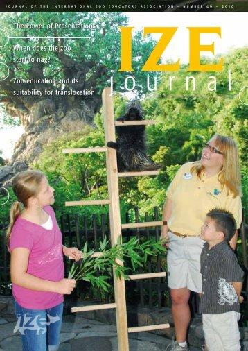 2010 journal - International Zoo Educators Association